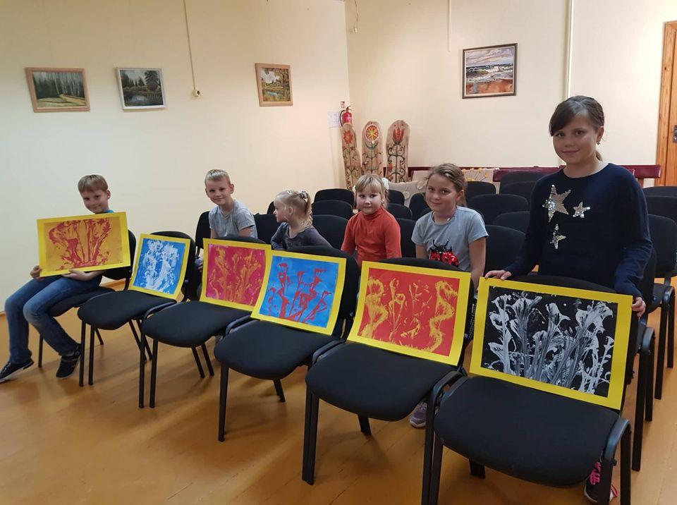 Perekšiuose veiklą pradėjo nauja NVŠ programa Menų dirbtuvėlės