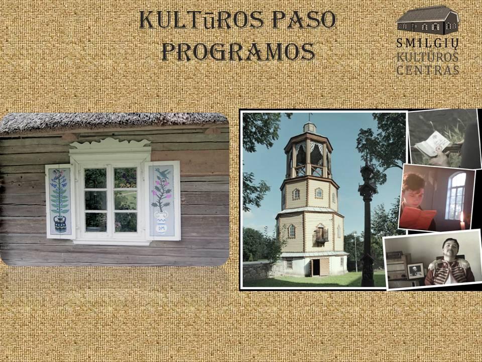 Kultūros paso programos